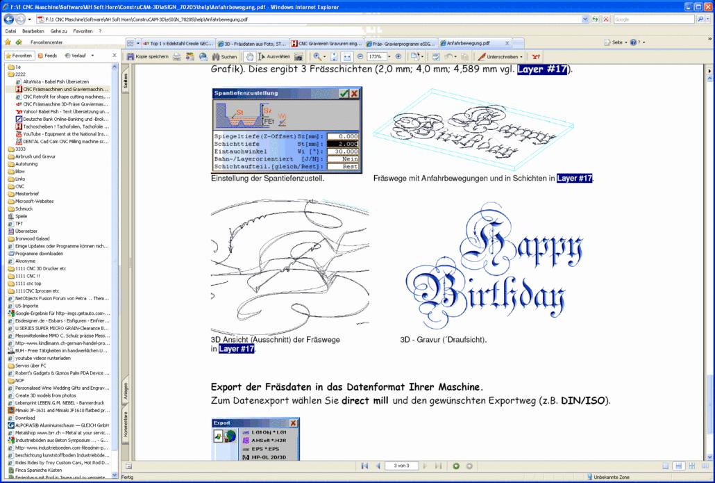 CAD CAM Software ConstruCAM 3D, Gravursoftware, Frässoftware, 2D, 3D ...